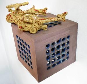 Daniel Levi keramiek wandobject