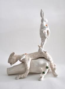 DagmardeKok_Whyhareneverlooksback_Ceramics_glaze_2013